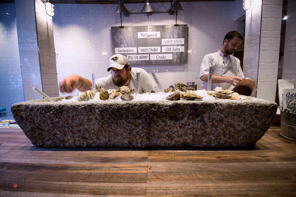 oysters john messbarger Peacemaker Lobster and Crab st.louis