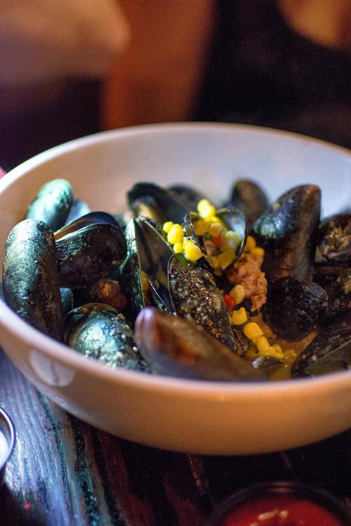 corn mussels Granville Moores washington dc