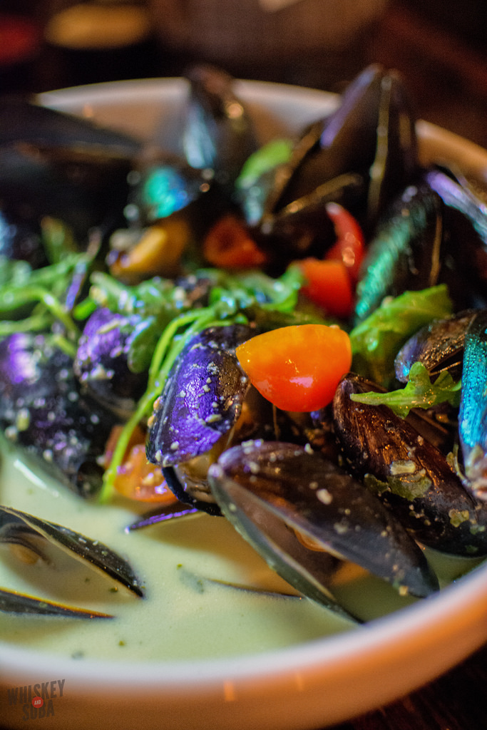 Granville Moores curry mussels washington dc