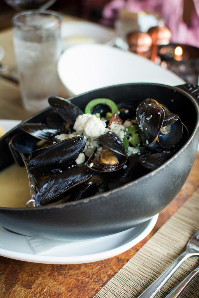 mussels Scape st.louis