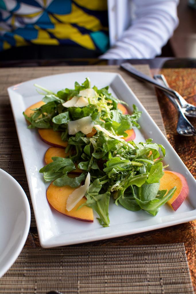 peach salad scape st.louis