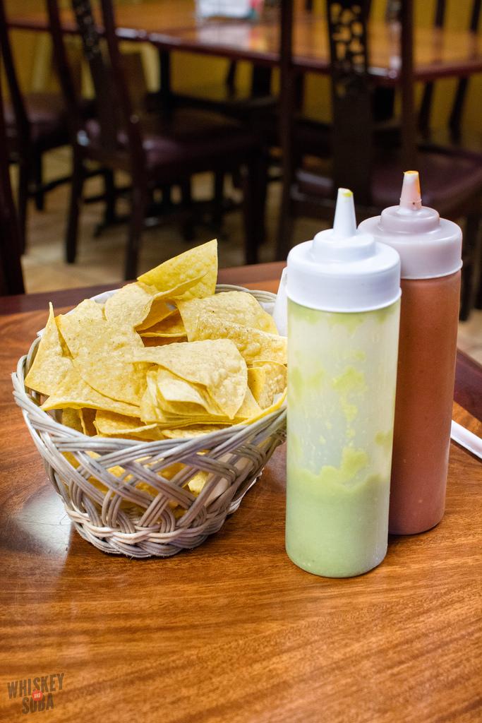 Taqueria Durango St. Louis chips