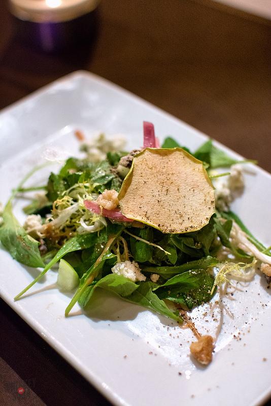 Salad at Sidney Street Cafe