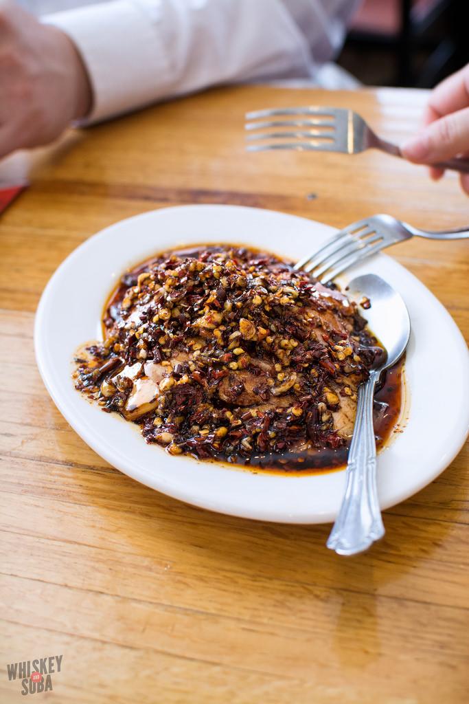spicy pork Asiana Garden st.louis