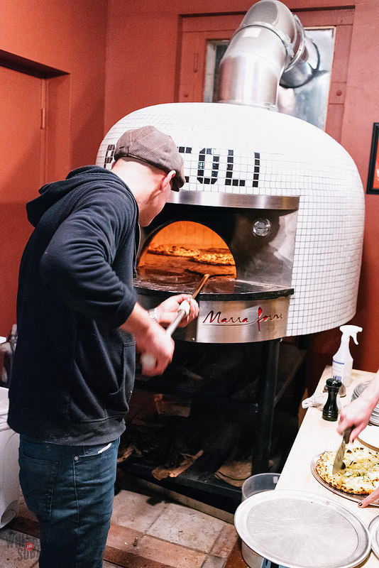 Scott Sandler at Pizzeoli in St. Louis, MO