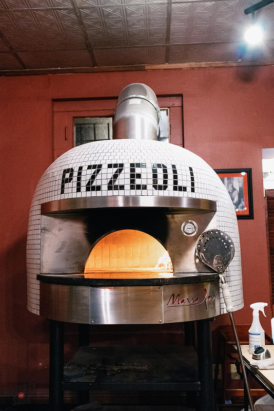 Oven at Pizzeoli in St. Louis, MO