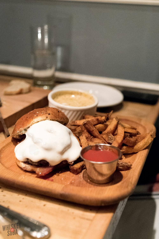 Diner Burger at The Libertine