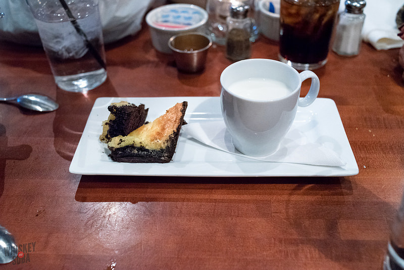 Brownie at The Shaved Duck