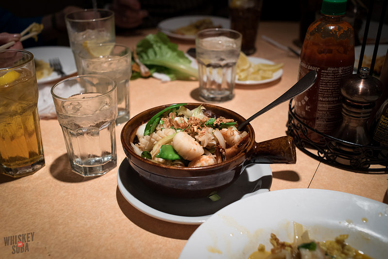 Seafood Charred Rice at Mai Lee