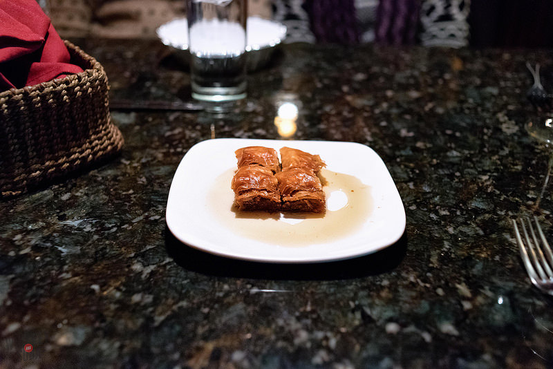 Baklava at Aya Sofia