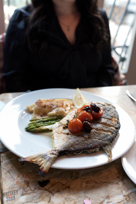 Whole Fish at I Fratellini