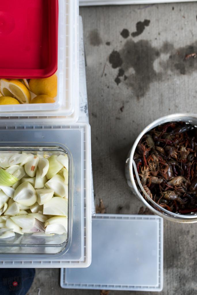 Crawfish Boil Prep