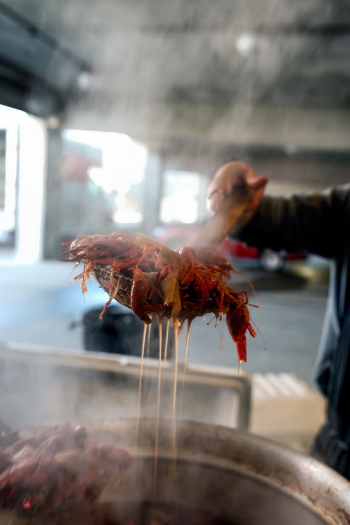 Spicy Crawfish Boil
