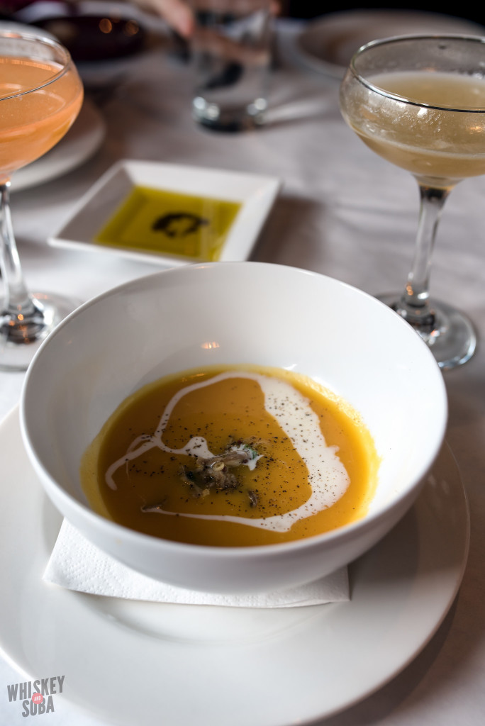 Butternut Squash Soup at Five Bistro