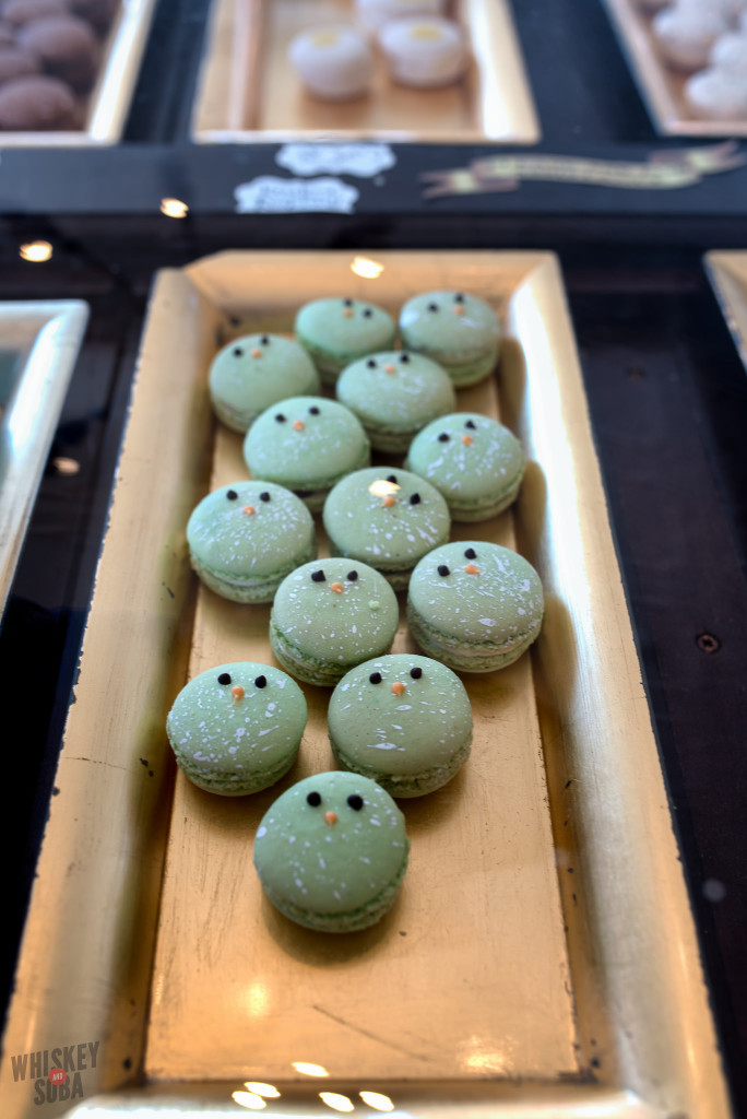 Bird Macarons at La Patisserie Chouquette
