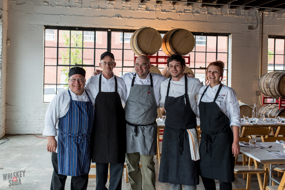 Russ Bodner and his cooks