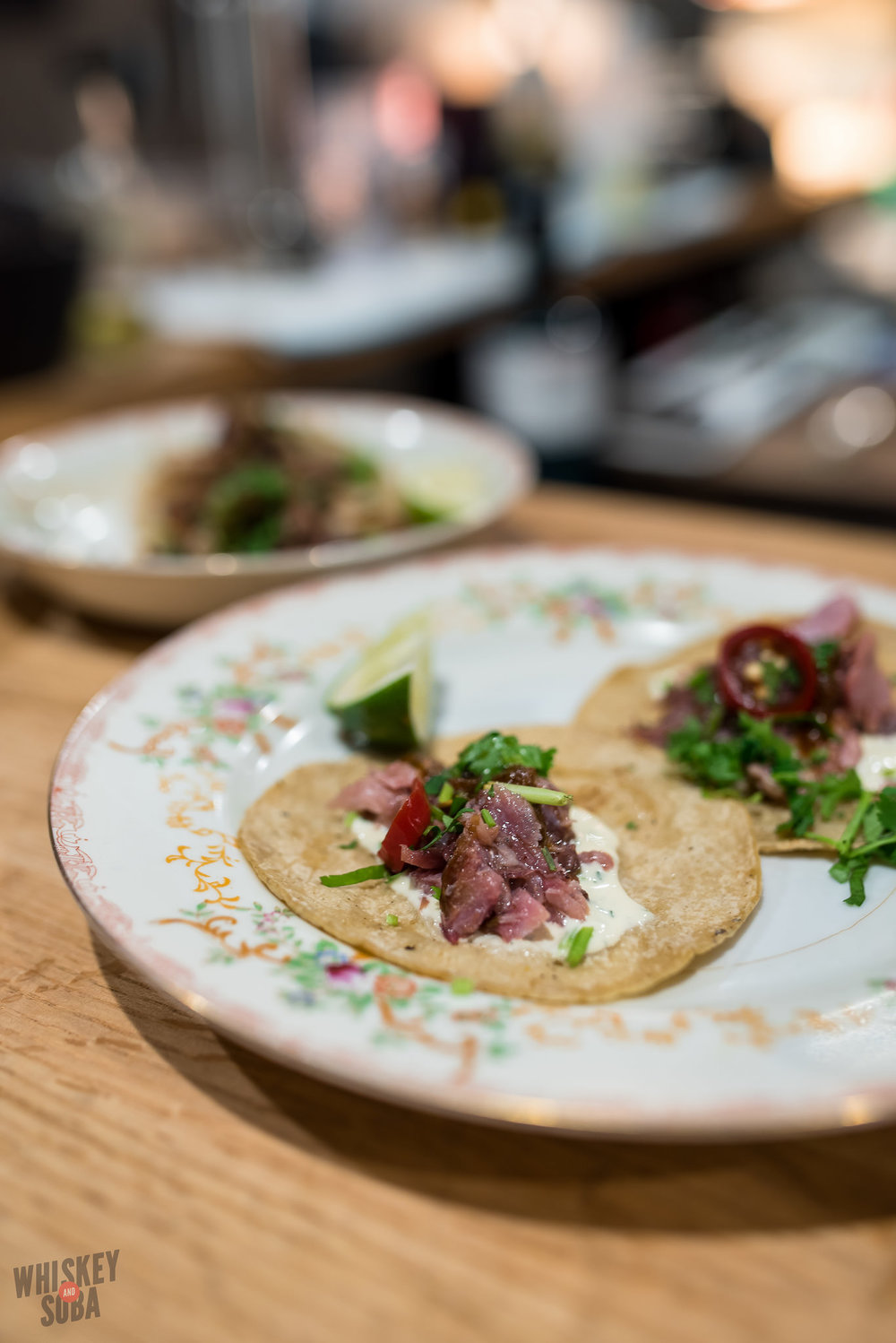 Smoked Tuna Tacos at Publico