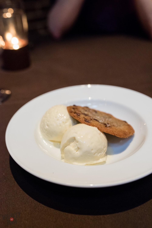 Ice cream at Sidney Street Cafe