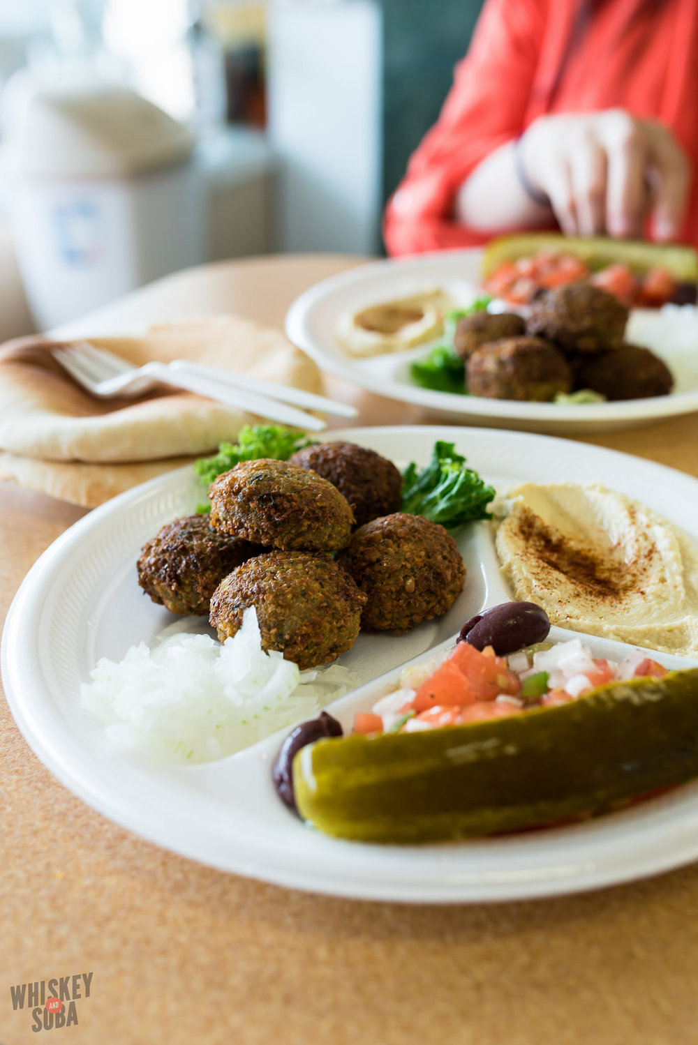 pita plus falafel set