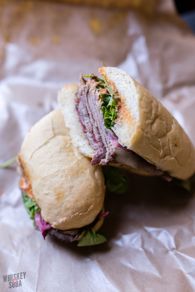 Spicy Roast Beef Sandwich at Boylard's Meat and Provisions