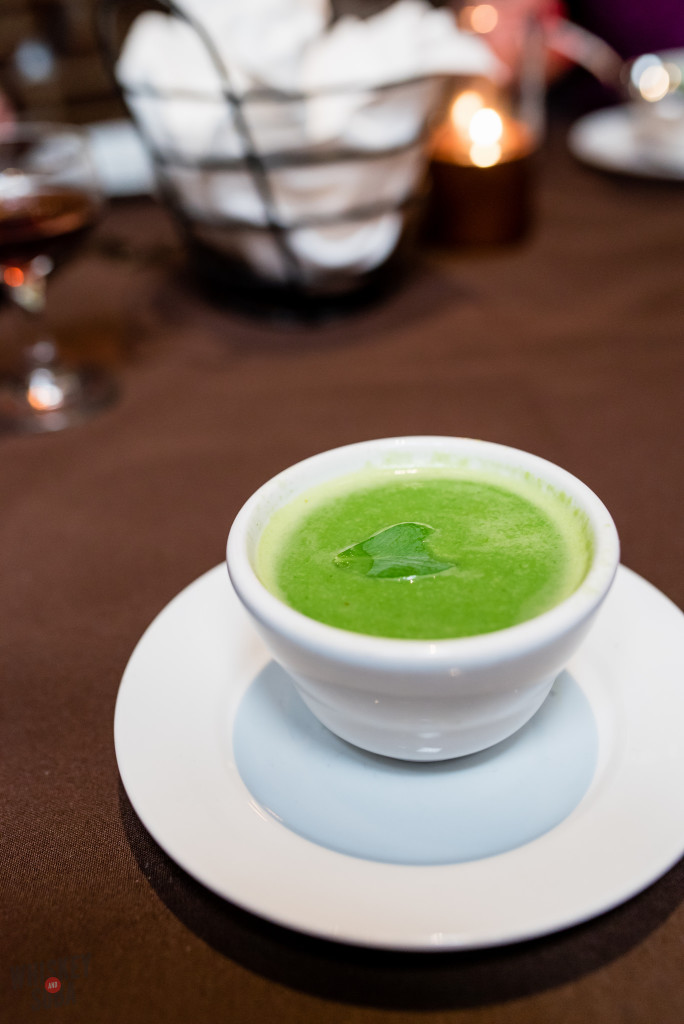 Pea Soup at Sidney Street Cafe