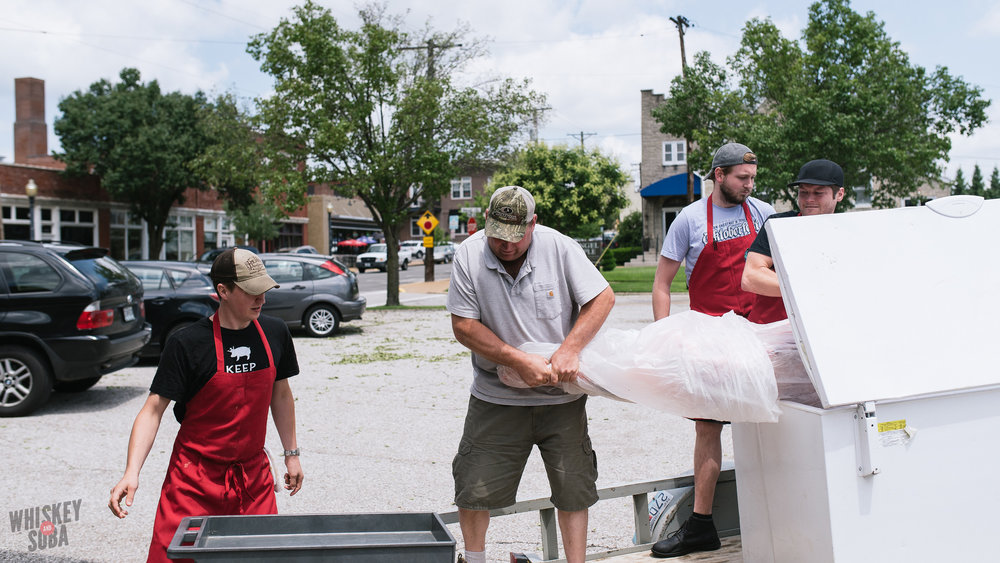 Cow Delivery at Boylard's Meat and Provisions