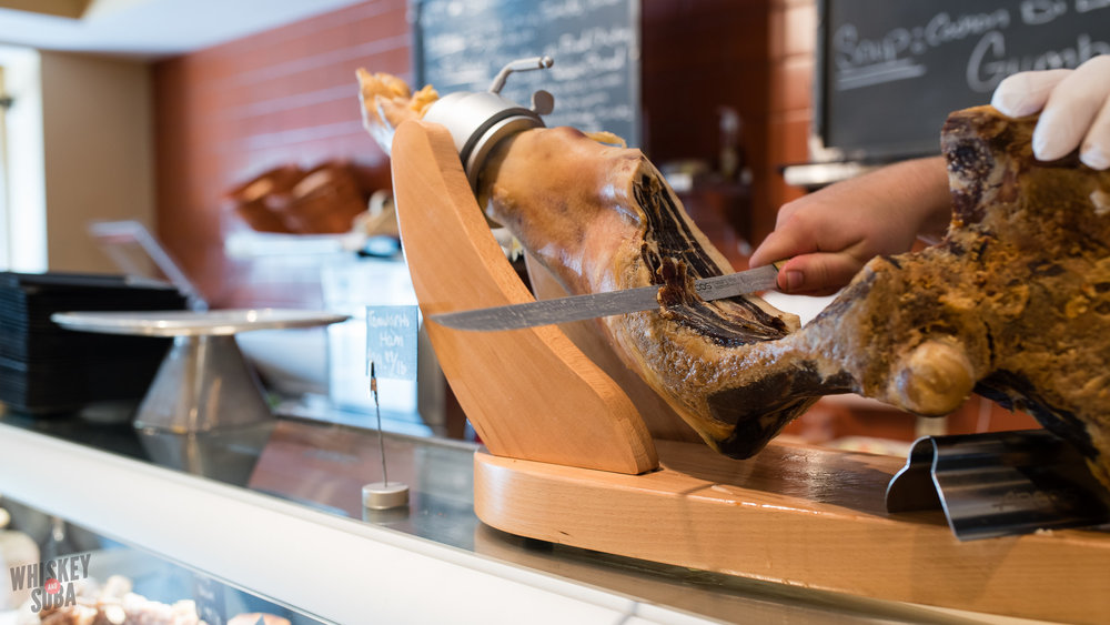Jamon Iberico at Truffles Butchery