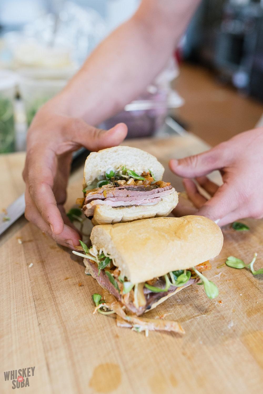 Seoul Mate Sandwich at Boylard's Meat and Provisions