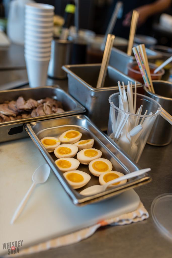 Nudo House Qui Tran Ramen Eggs