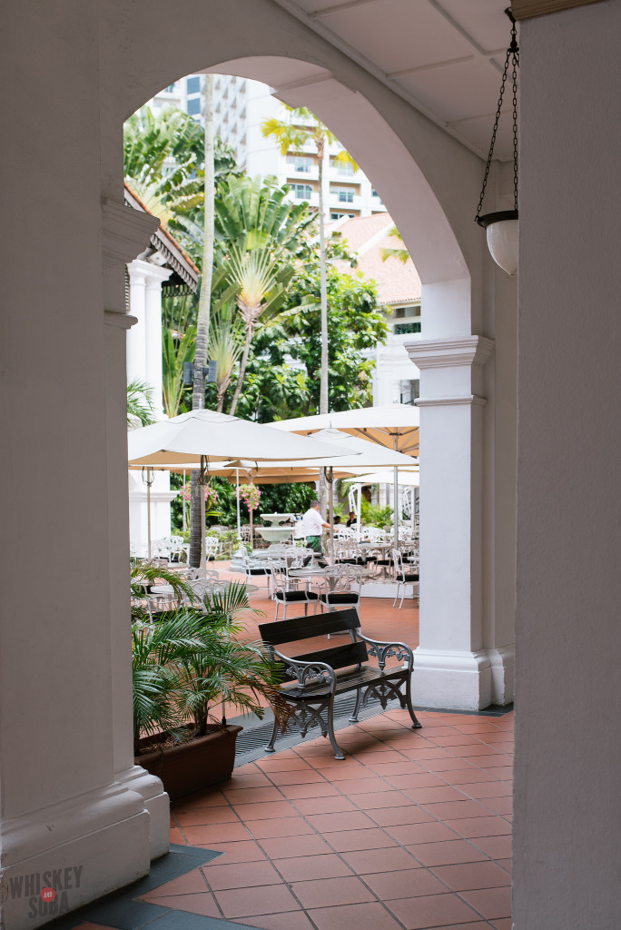 Courtyard at The Raffles Hotel Singapore