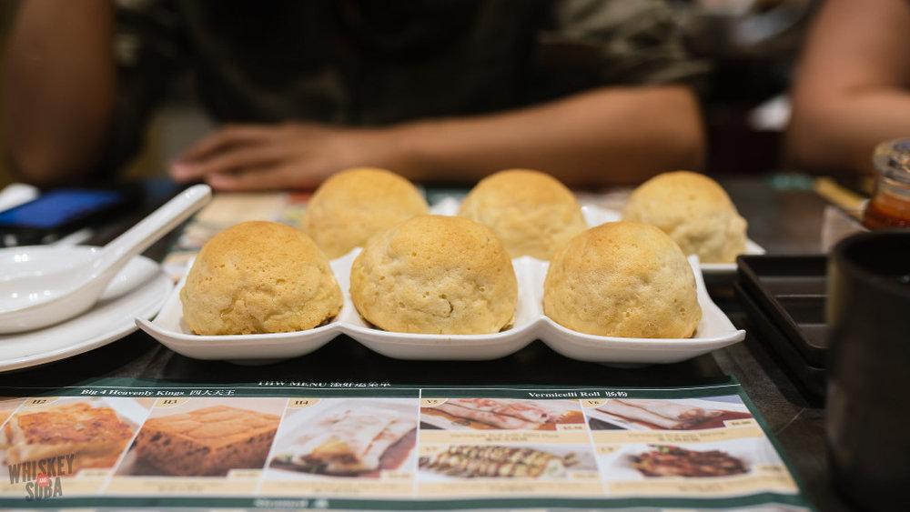 Tim Ho Wan singapore baked pork buns