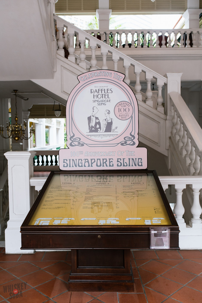 Directory at The Raffles Hotel Singapore