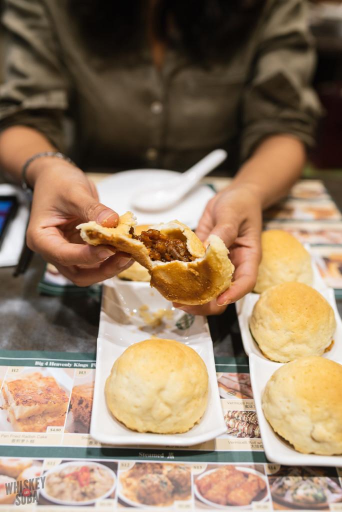 Tim Ho Wan Singapore BBQ pork bun