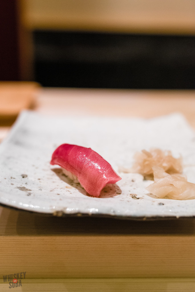 Chu toro tuna at Shinji by Kanesaka