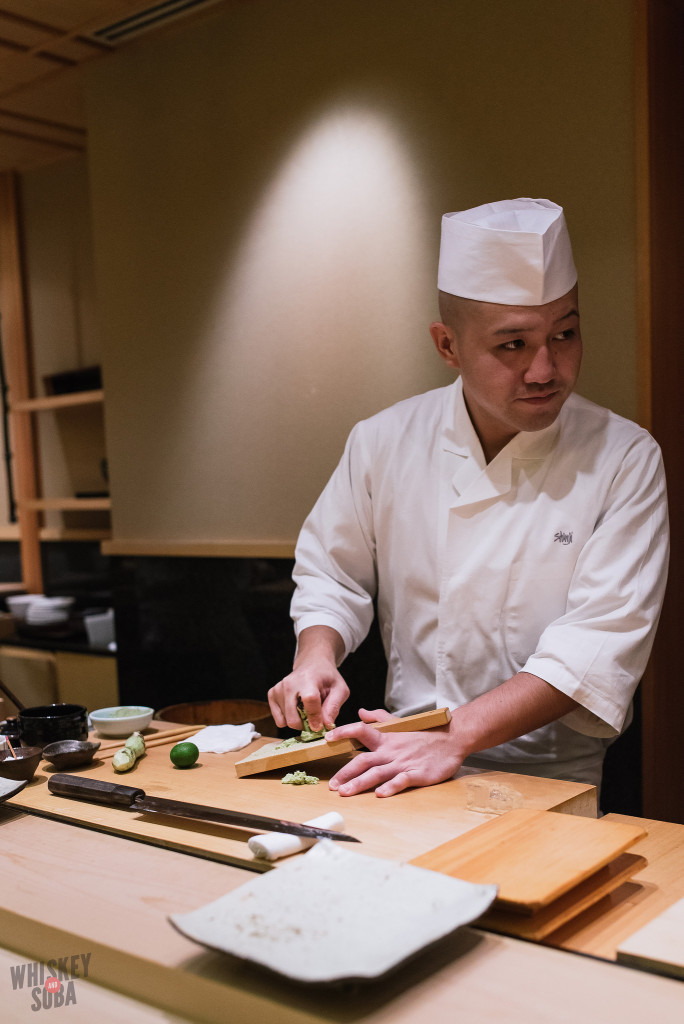 Chef at Shinji by Kanesaka