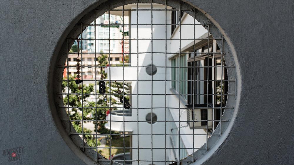 Tiong Bahru Singapore Window