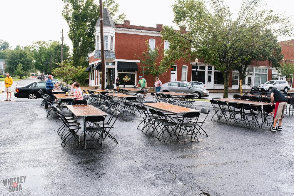 Seating Bolyard's Burger Battle