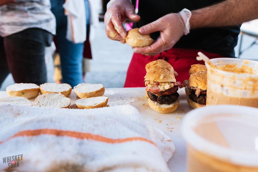 Bolyard's Burger Battle Andrew Jennrich's burger
