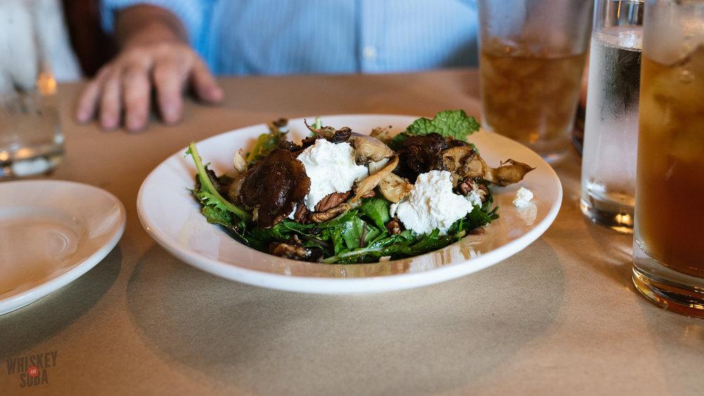 Farmhaus mushroom salad