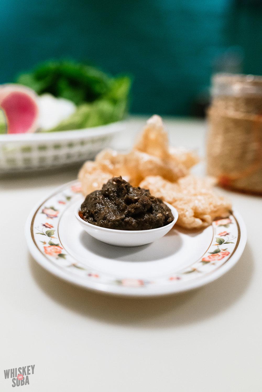little serow Nam Prik Thai Orn