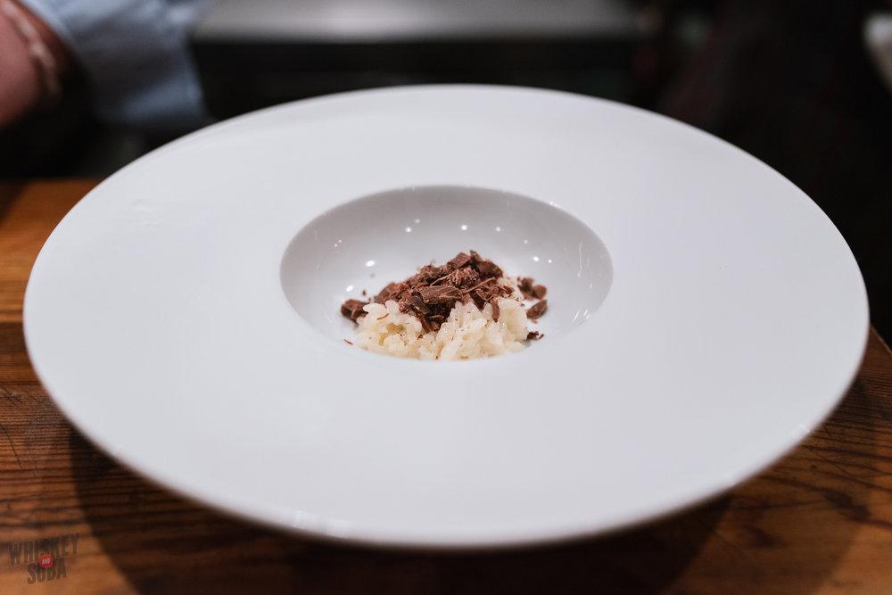 randolfi's diversions chocolate risotto
