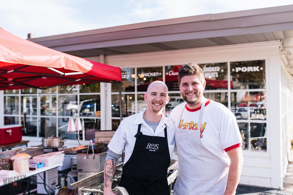 bolyard's burger battle chefs poletti mcmillen