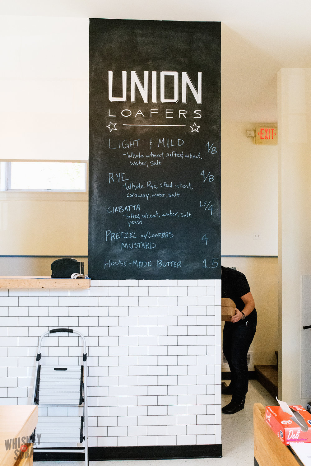union loafers st.louis menu