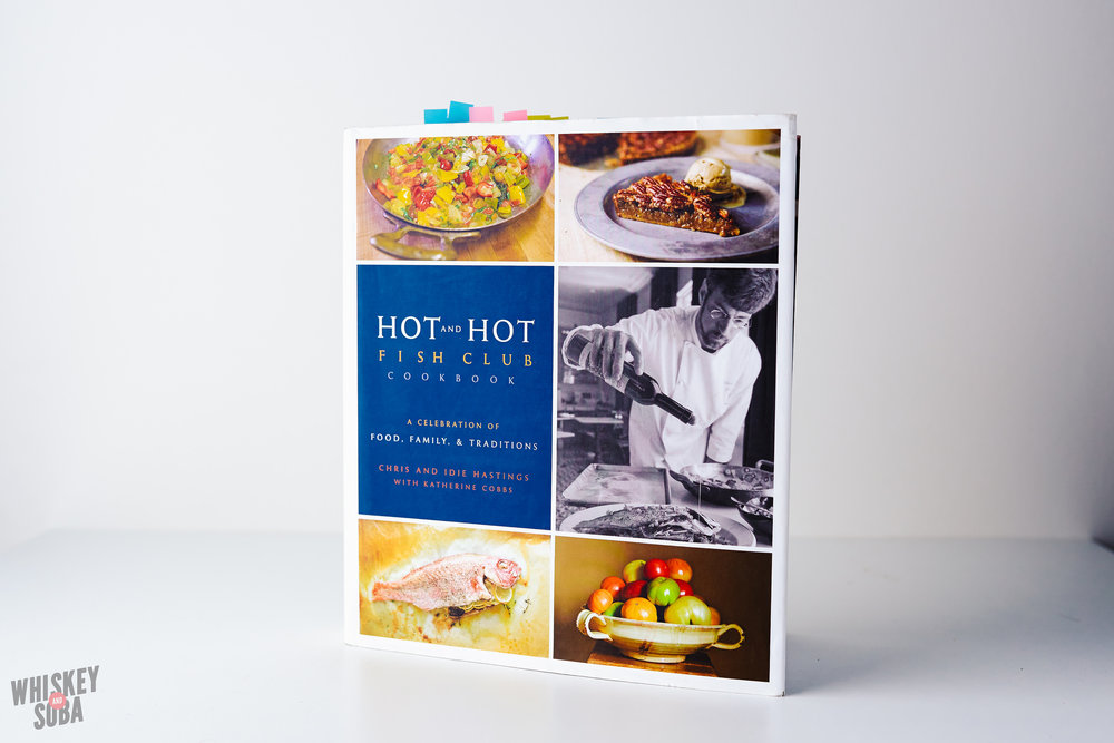 chris hasting hot and hot fish club cookbook