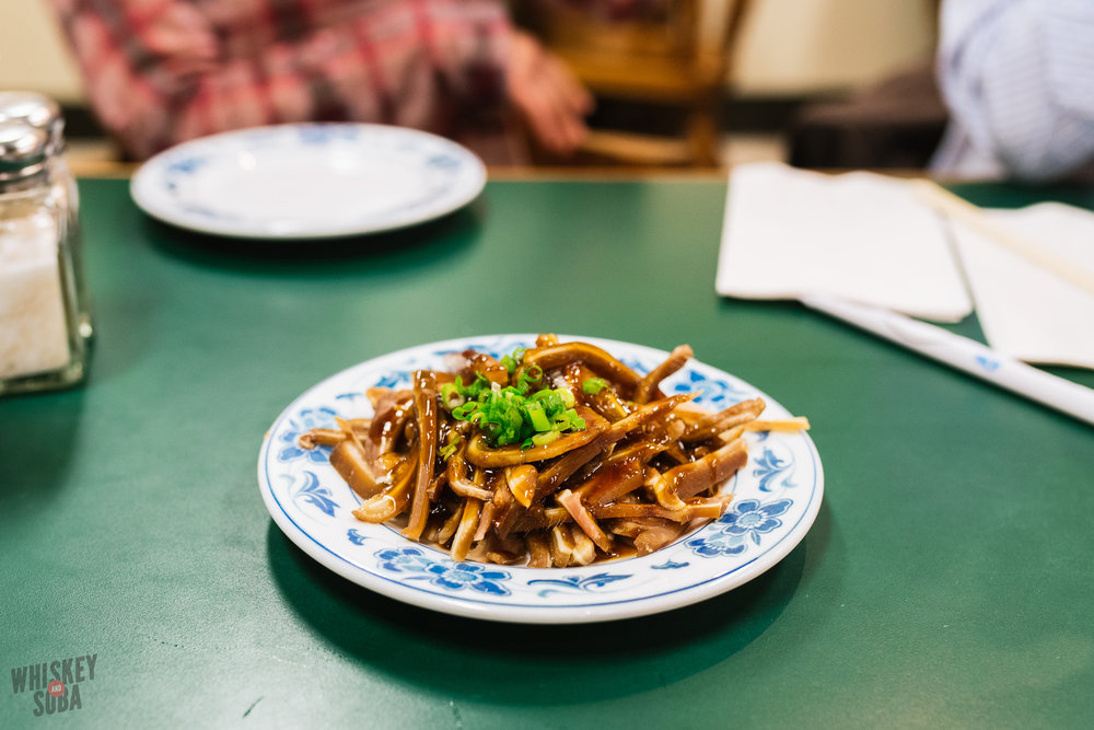 tai ke braised pig ear salad