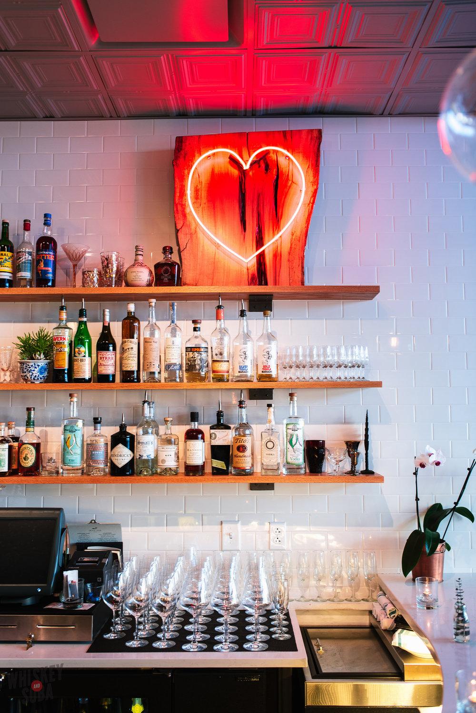 Olive and Oak' bar