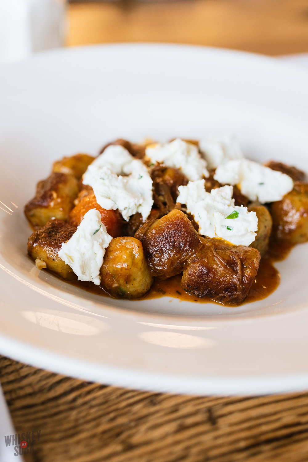 olive and oak's gnocchi