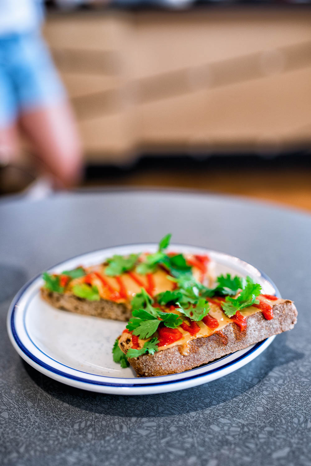 Sriracha Toast at A Baked Joint