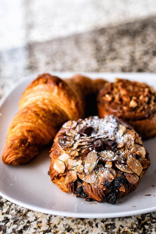 Chocolate Almond croissant -