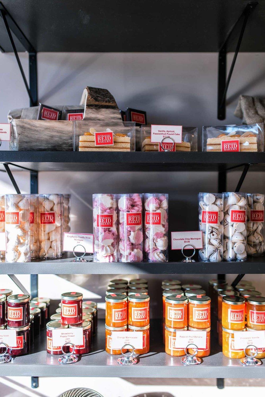 Goodies Shelf at Nathaniel Reid Bakery